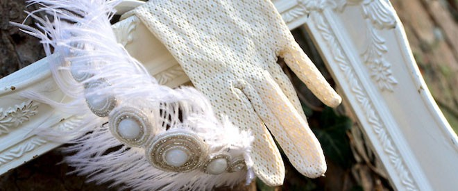 قفازات العروس