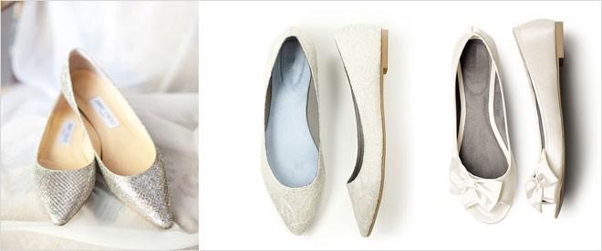 حذاء زفاف مريح