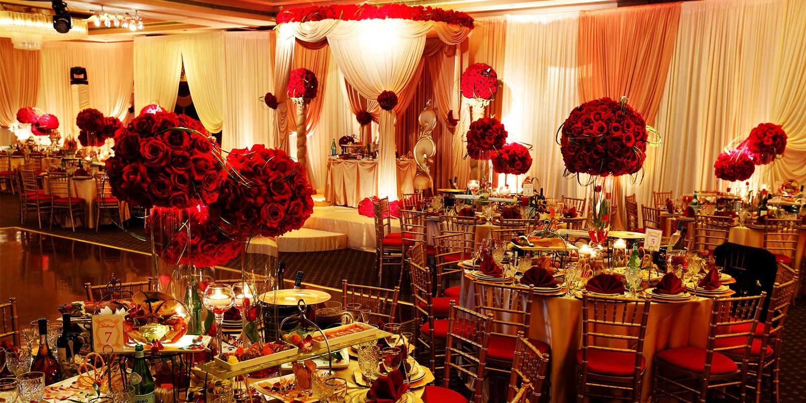 اللون الاحمر في الزفاف