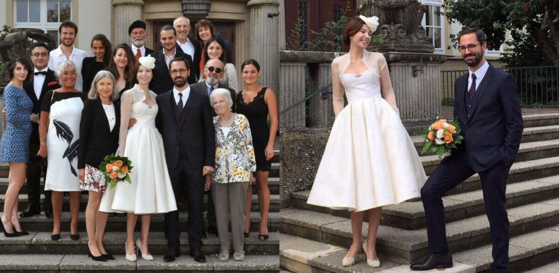 a5c223e7063d3 فساتين زفاف المشاهير عام 2015