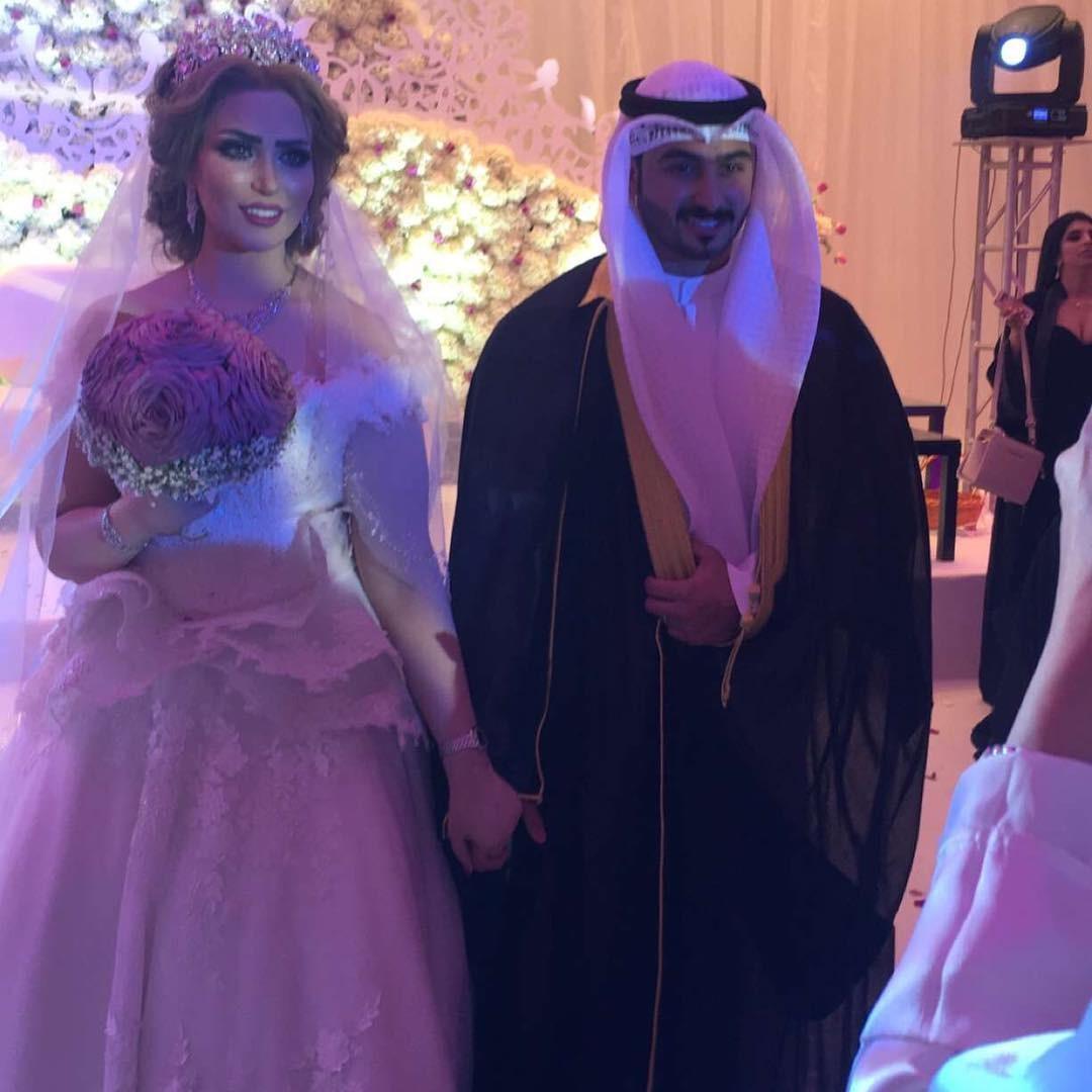 زواج شاب كويتي من اربعة نساء