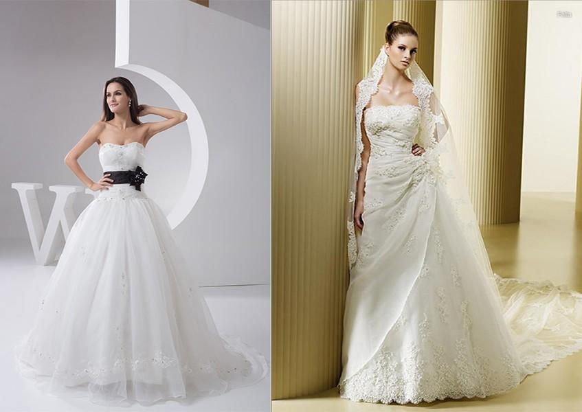 فستان زفاف سترابلس