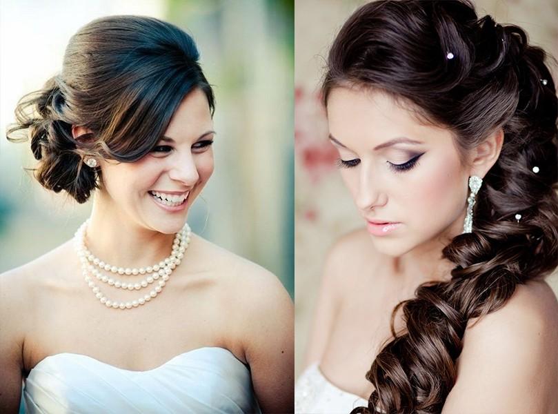 شعر ومكياج العروس