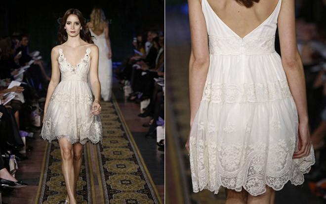 اختيار فستان زفاف بسيط