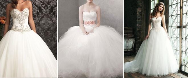 فستان من التول