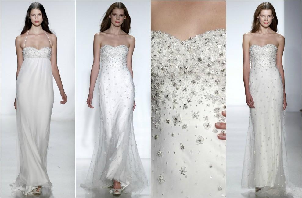 فستان الزفاف المطرز