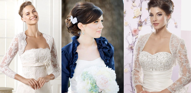 بوليرو فستان زفاف