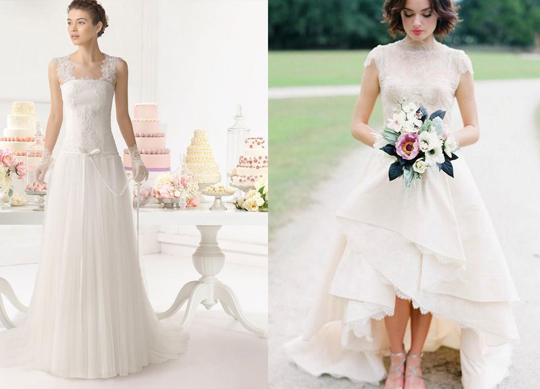 فساتين زفاف للعروس القصيرة