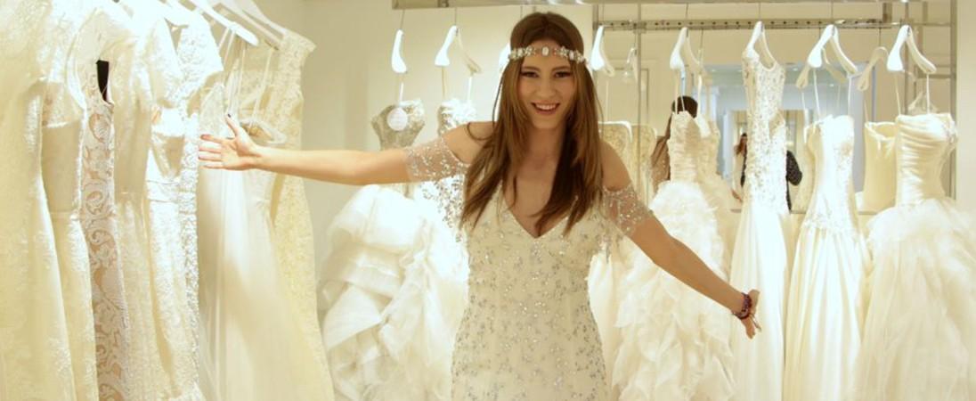 بروفا فستان الزفاف