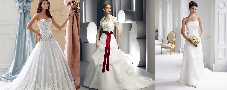 أجمل فساتين الزواج البيضاء