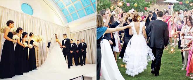 مكان الزفاف
