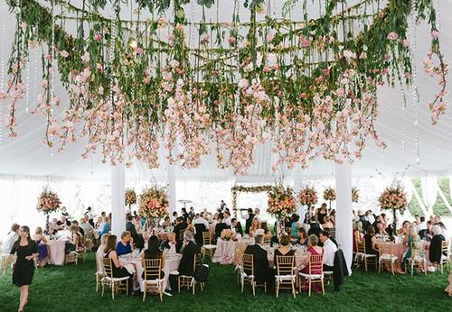 تزيين حفلات الزفاف