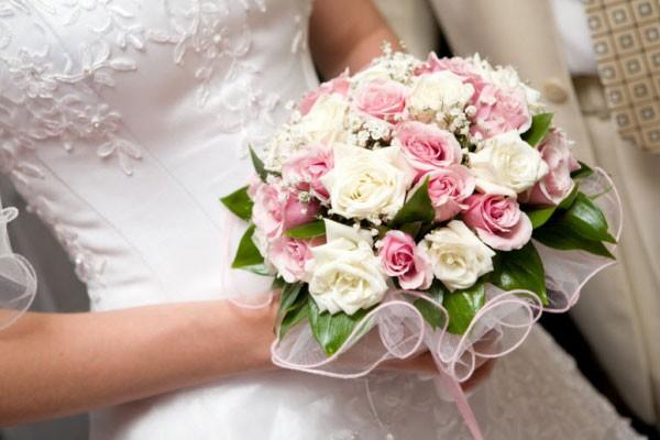 باقات ورد العروس
