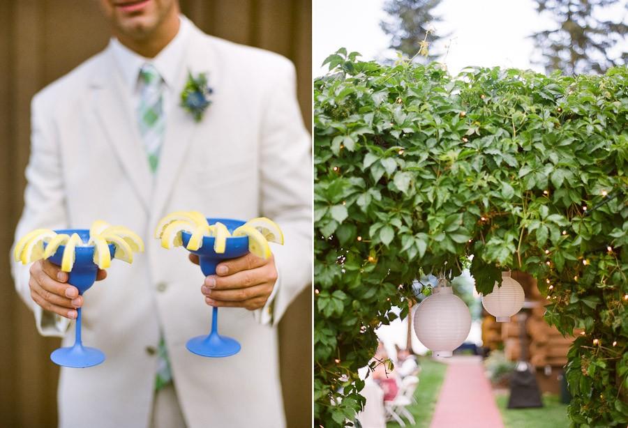 الطعام في حفلات الزفاف