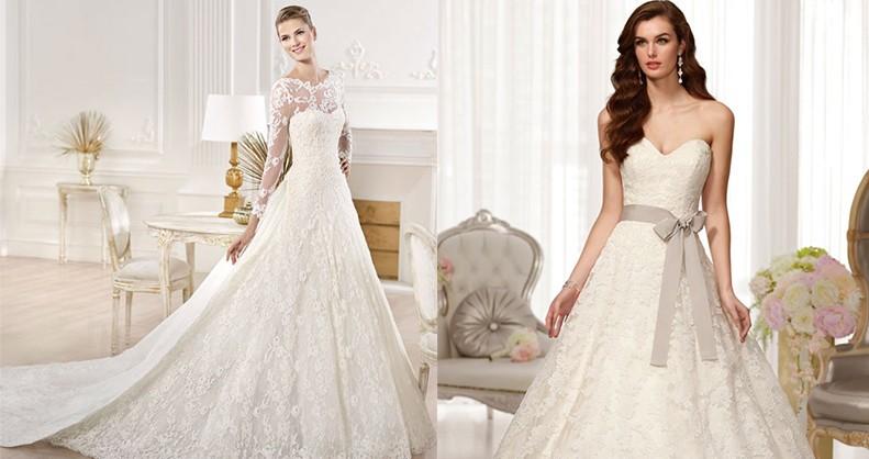 أروع فساتين العروس