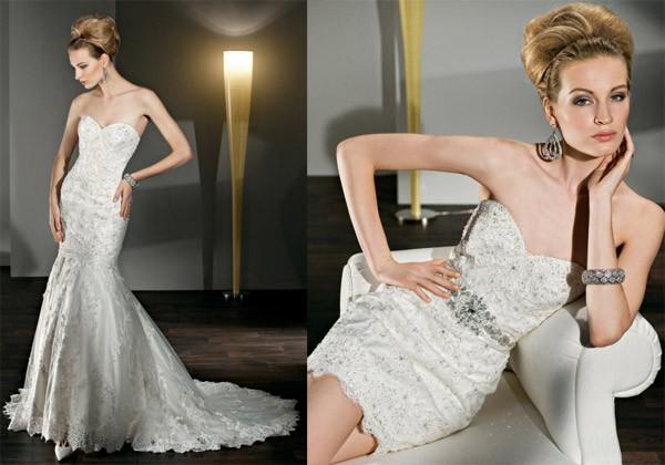 أجمل الفساتين البيضاء القصيرة