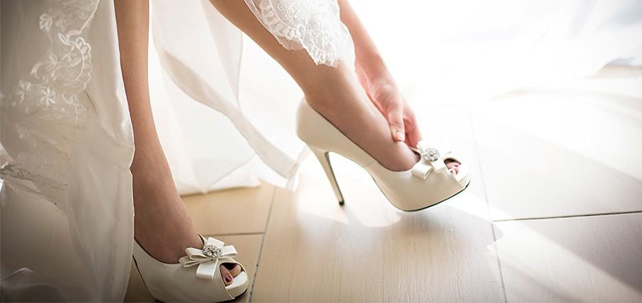 نصائح لاختيار حذاء الزفاف