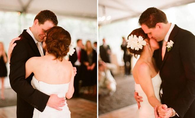 رقصة العروسين الاولى