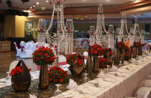 حفل زفاف ضخم