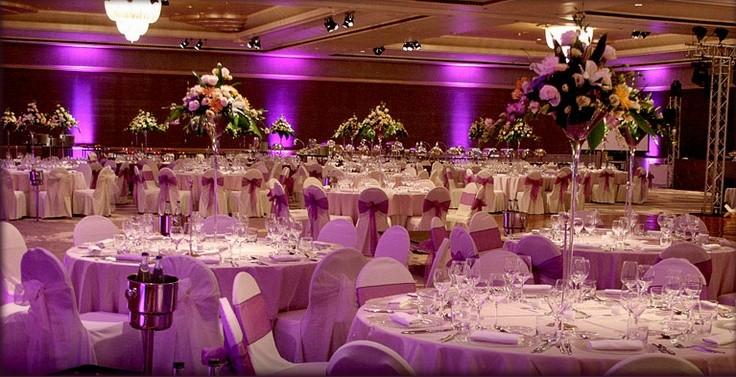 ديكورات حفلات الزفاف
