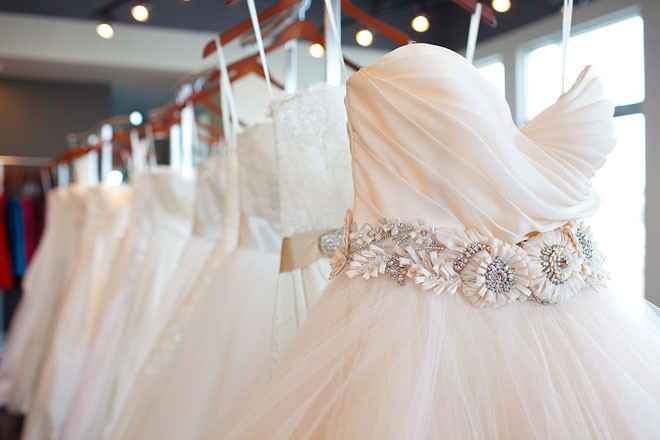 أجمل أقمشة فساتين العروس