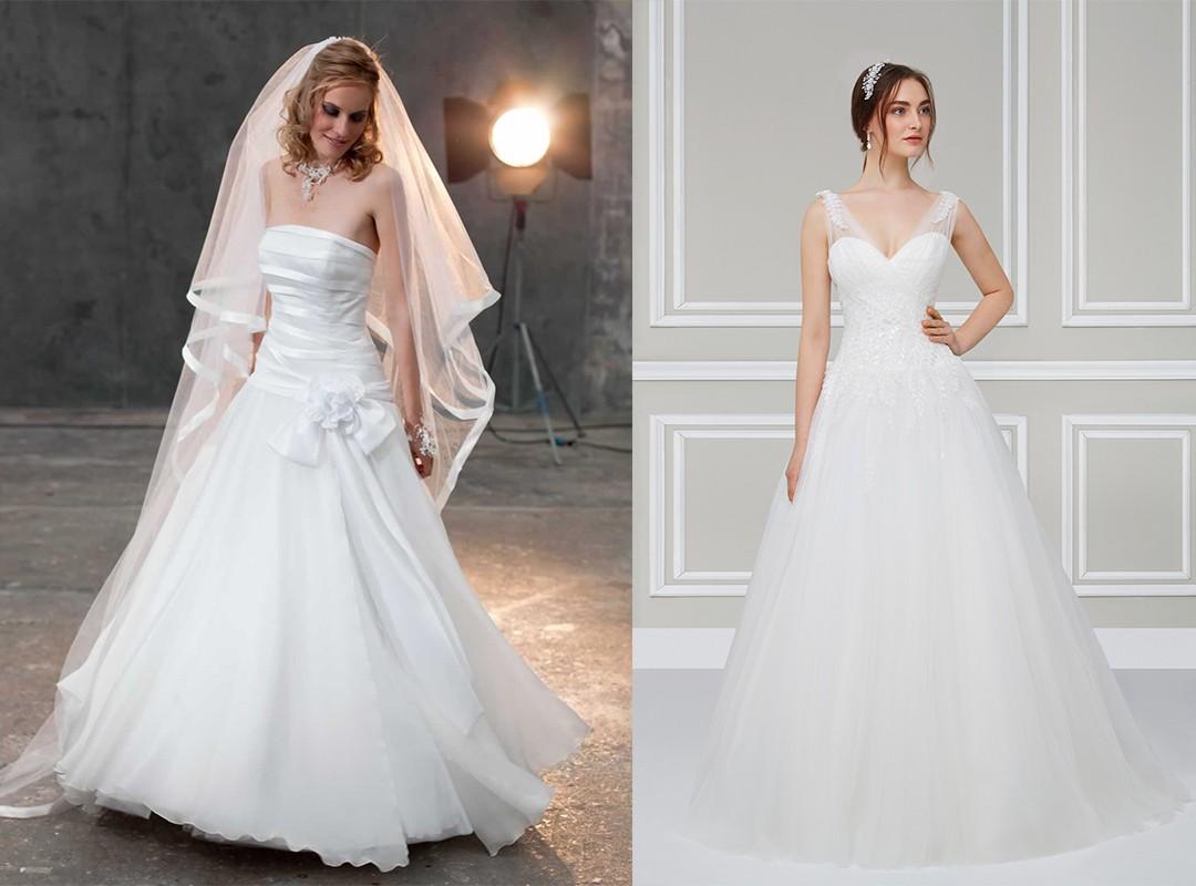 التسريحات التي تناسب فساتين الزفاف