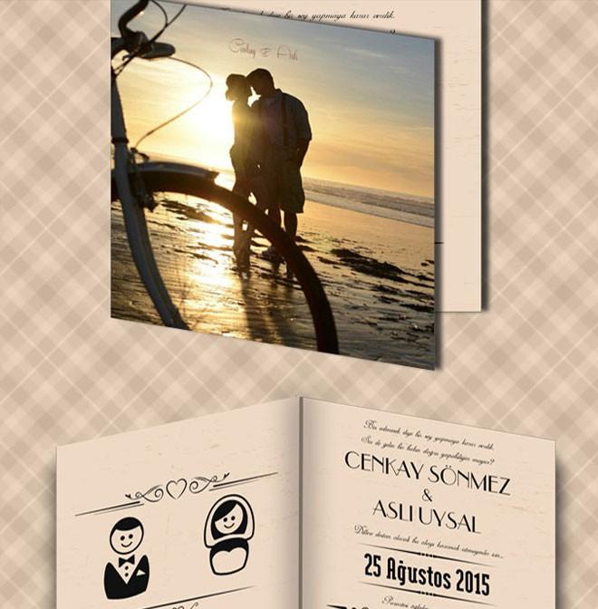 بطاقات الدعوة المزينة بالصور