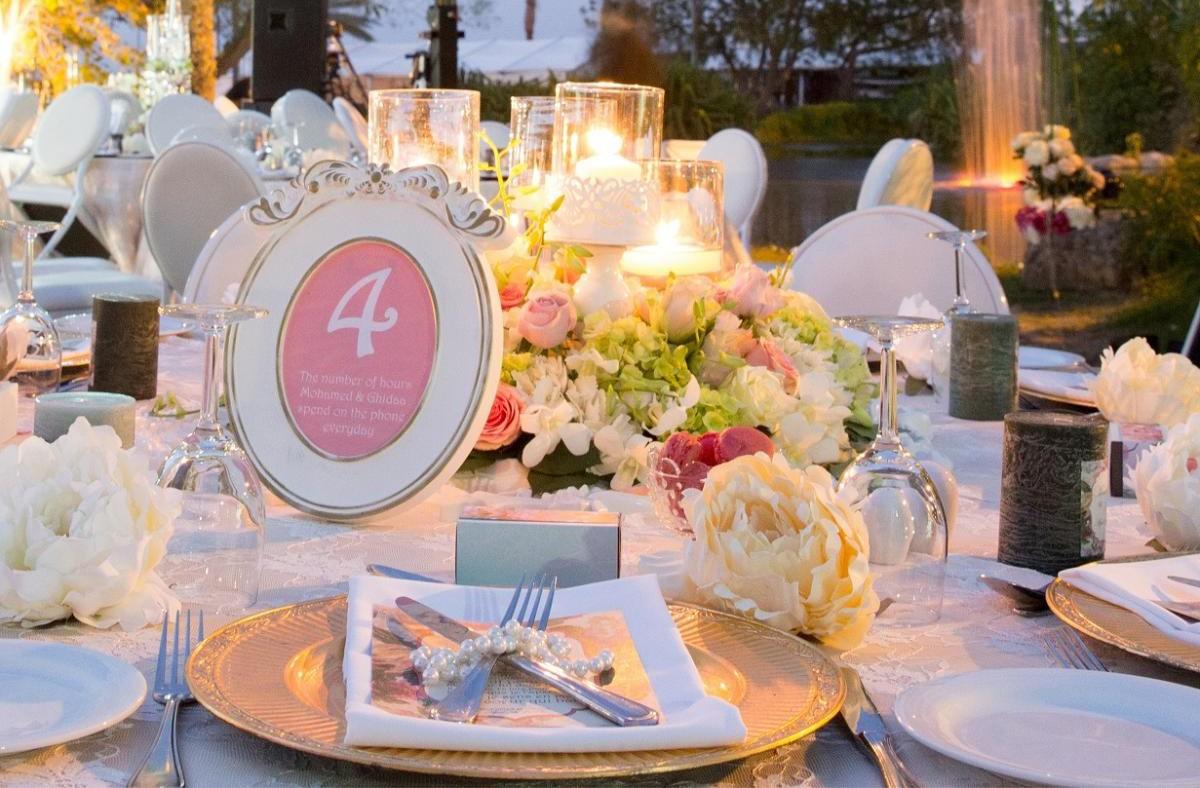 أفضل طرق لتنظيم مدعوين في حفلات الزفاف