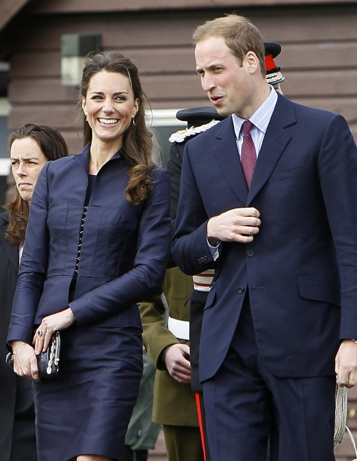 شهر عسل الأمير وليم والأميرة كيت