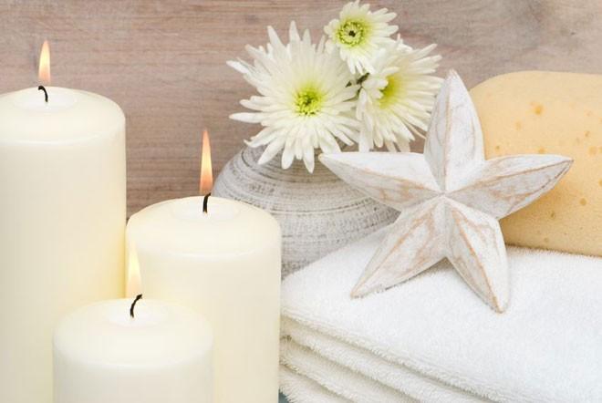 الشموع أساس الرومانسية
