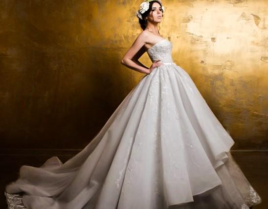 فستان زفاف حورية البحر