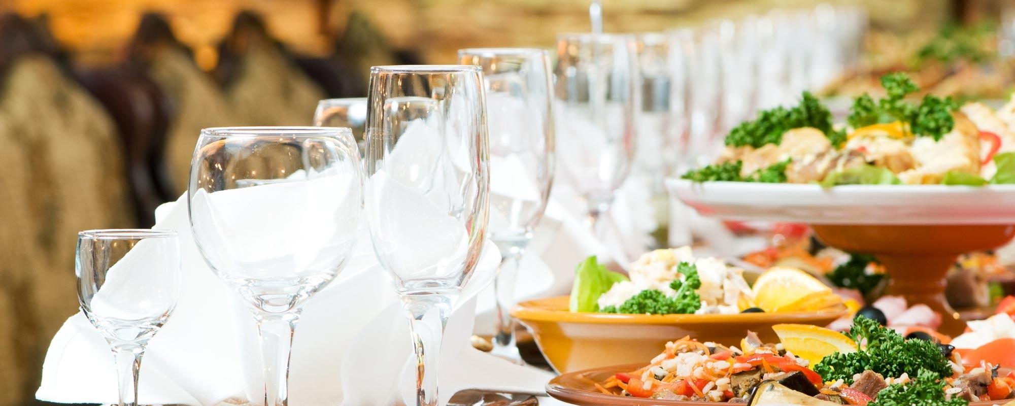 أكلات حفلات الزفاف