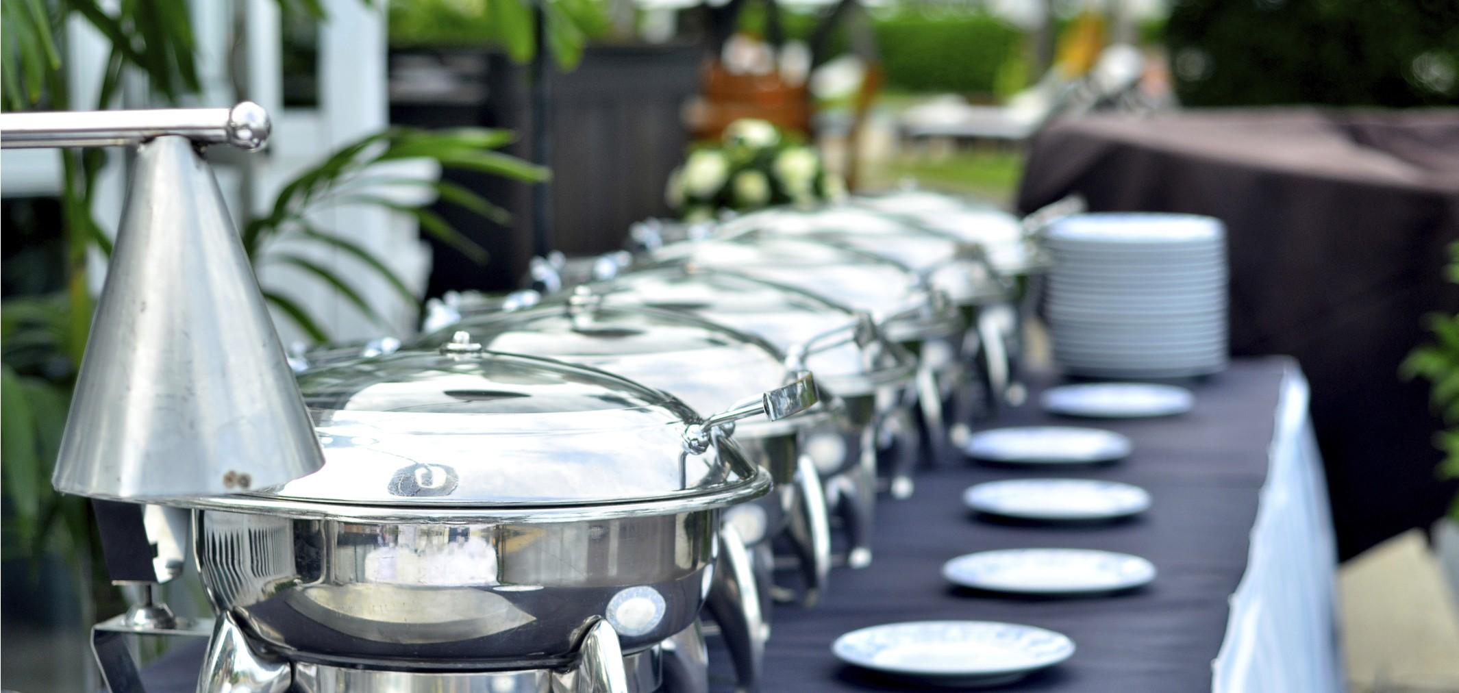 أرقى البوفيهات  في حفلات الزفاف