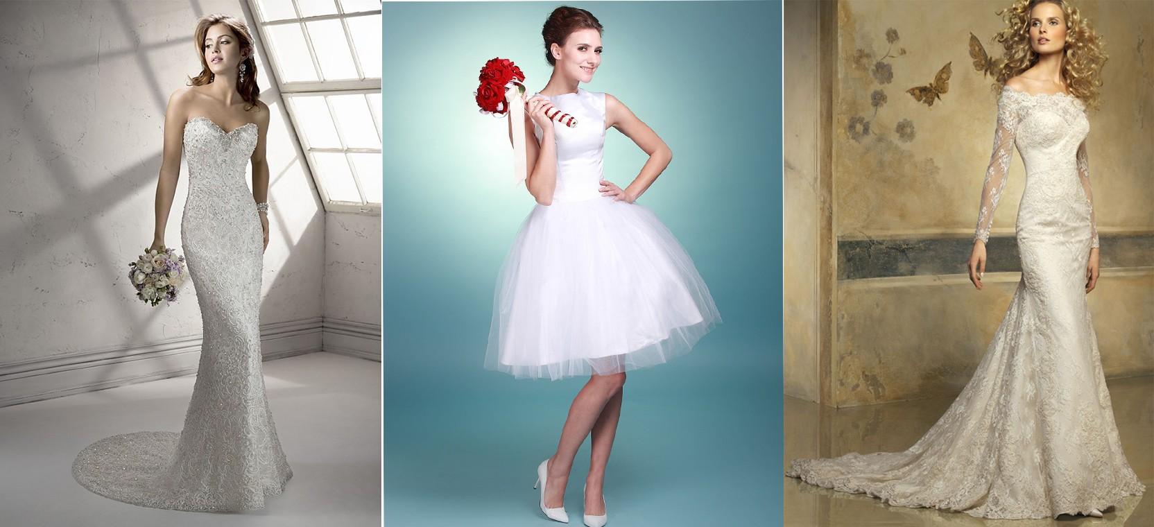 أجمل القصات لفساتين الزفاف