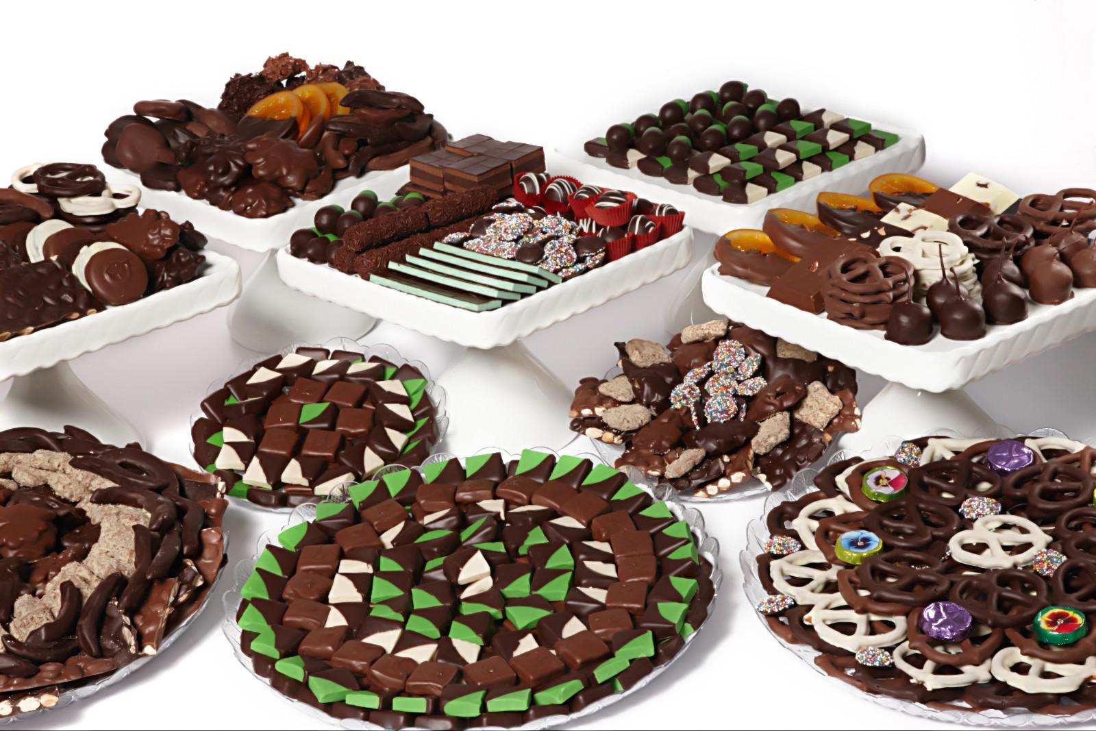 أفخم أنواع الشوكولا
