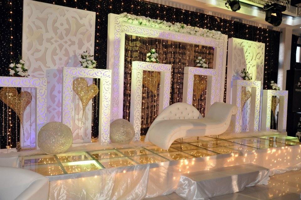 كوشات زفاف عصرية