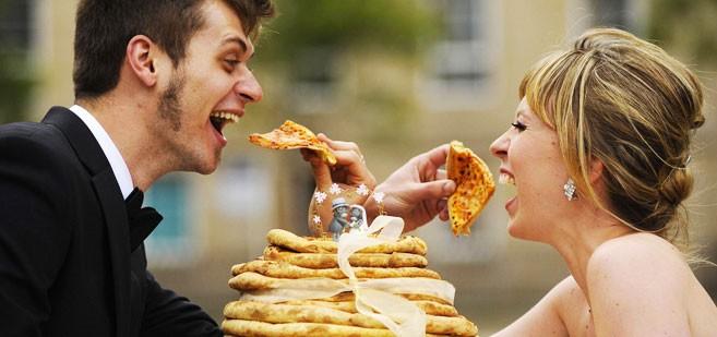 اختيار طعام الزفاف
