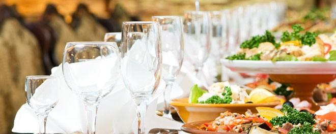 طعام حفلات الزفاف