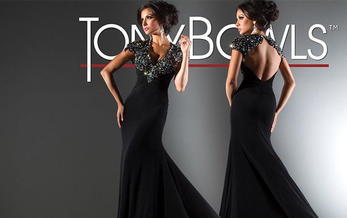 فستان بسيط كلاسيكي