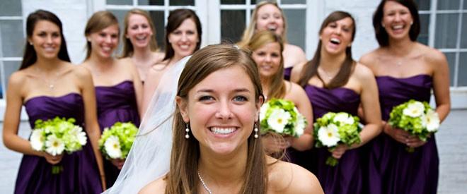 باقات أزهار العروس
