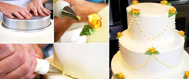 كيفية اختيار كيك الزفاف