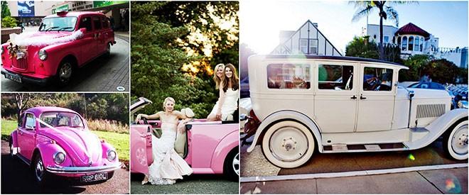 ألوان سيارةالزفاف