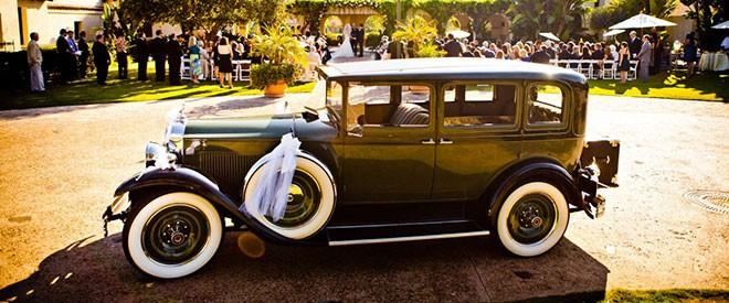 اختيار سيارة الزفاف