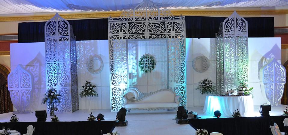 أجمل كوشات حفلات الزفاف