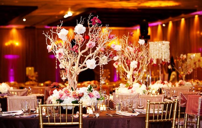 تنسيق قاعة الزفاف