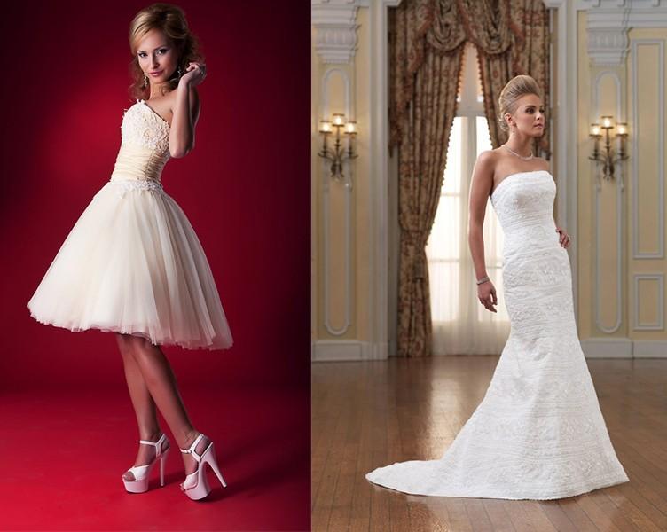 فستان الزفاف المناسب
