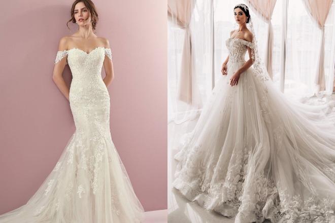 5d872654c فساتين زفاف 2019 - اخر تصاميم فساتين الاعراس - زفاف.نت