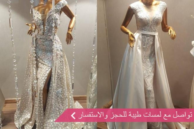 لمسات طيبة لفساتين الزفاف
