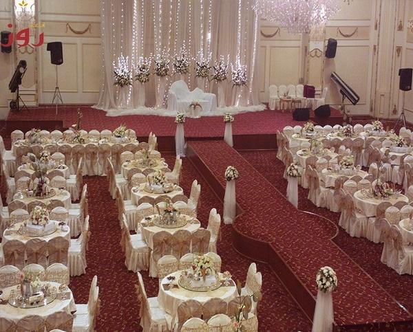 قاعة اعراس روز
