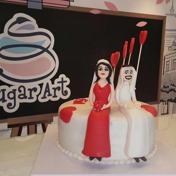 فنون السكر للكيك و الحلويات